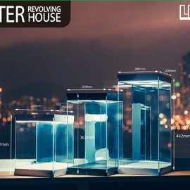 LEGEND STUDIO Master Revolving House: for 1:6 Scale Figures Black Version