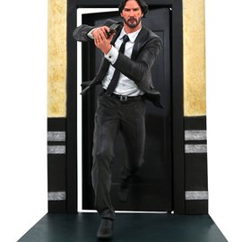 Diamond Direct John Wick Gallery: Running PVC Figure