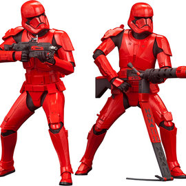 Kotobukiya Star Wars: The Rise of Skywalker - Sith Trooper ARTFX+ Statue 2-Pack