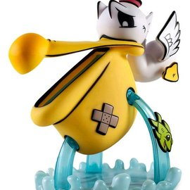 Kidrobot Pelican't Yellow Medium Figure by Joe Ledbetter
