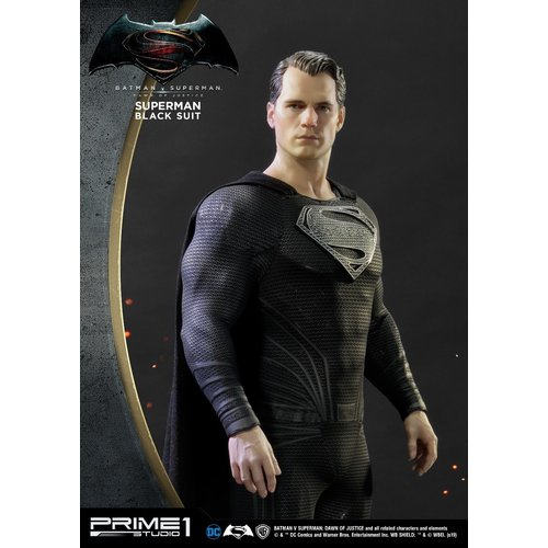 Prime 1 Studio pre order:  DC Comics: Batman vs Superman - Superman Black Suit 1:2 Scale Statue