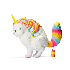 soap studios Strange Cat Family: Unicat - Rainbow Ice Cream 15 cm Vinyl Figure