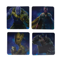 Marvel: Avengers Infinity War - Lenticular Coasters