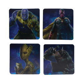Paladone Marvel: Avengers Infinity War - Lenticular Coasters