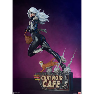 Sideshow pre order: Marvel: Spider-Verse - Black Cat 1:5 Scale Statue