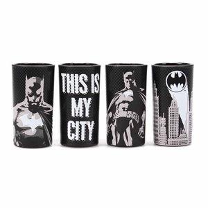 Batman set of mini glasses (set of 4) - poses