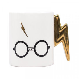 Half Moon  Bay Harry Potter shaped mug (lightning bolt)