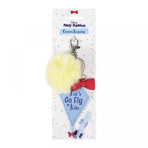 Half Moon  Bay disney: mary poppins keyring with charms lets go fly a kite