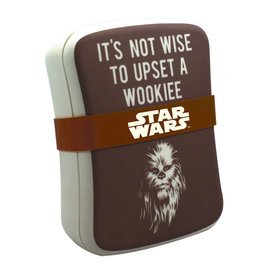 Half Moon  Bay Star Wars bamboo lunch box chewbacca upset a wookie