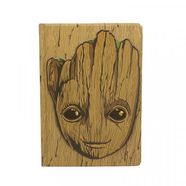 Half Moon  Bay A5 Notebook - Marvel Groot