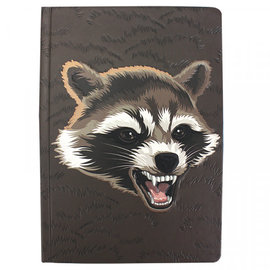 Half Moon  Bay A5 Notebook - Marvel Rocket