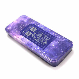 Half Moon  Bay Pencil Case (Tin) - Dr Who Tardis Galaxy