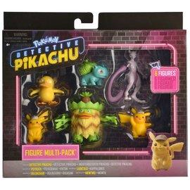 BOTI Europe B.V. Pokemon Movie: Detective Pikachu Battle Figure 6-Pack