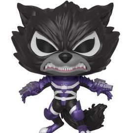 FUNKO Pop! Marvel: Marvel Venom S2 - Rocket Raccoon