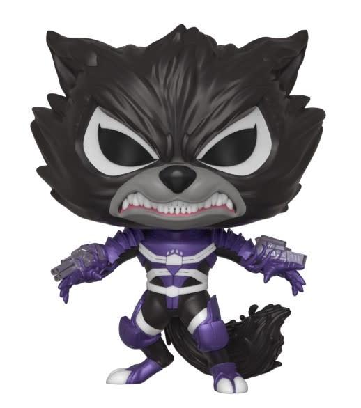 FUNKO Pop! Marvel: Marvel Venom S2 - Rocket Raccoon