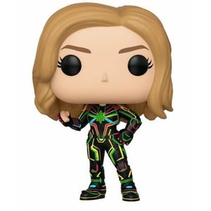 FUNKO Pop! Marvel: Captain Marvel with Neon Suit