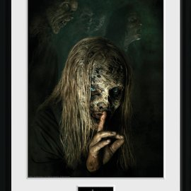Hole In The Wall The Walking Dead: Season 9 Collector Print