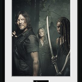 Hole In The Wall The Walking Dead: Season 9 Trio Collector Print