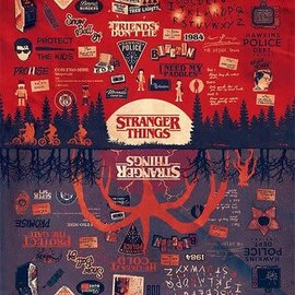 Hole In The Wall Stranger Things The Upside Down - Maxi Poster