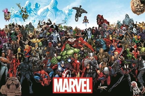 Hole In The Wall Marvel Universe - Maxi Poster