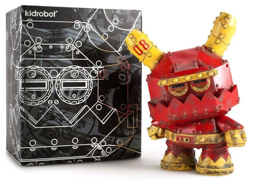 Kidrobot Mecha 8 inch Stealth Dunny by Frank Kozik