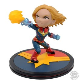 Quantum Mechanix Marvel: Captain Marvel - Q-Fig Diorama