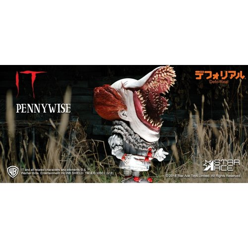 Star Ace IT 2017: Scary Pennywise Defo-Real Soft Vinyl Statue