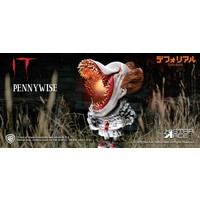 IT 2017: Scary with Light Pennywise Defo-Real Soft Vinyl Statue