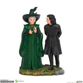 enesco Harry Potter: Snape and McGonagall Figurine