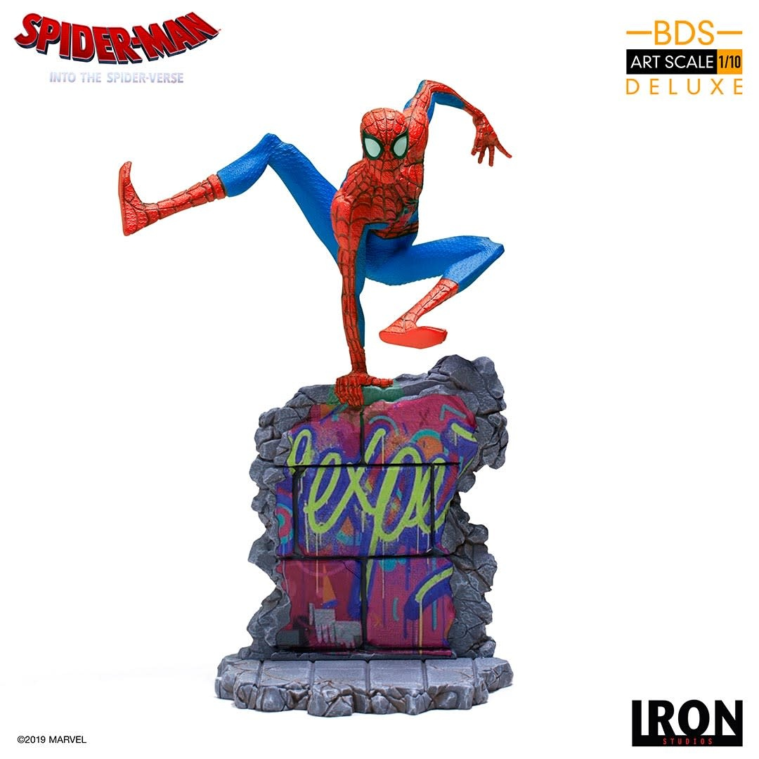 Iron Studios Pre order: Marvel: Into the Spider-Verse - Peter B. Parker 1:10 scale Statue