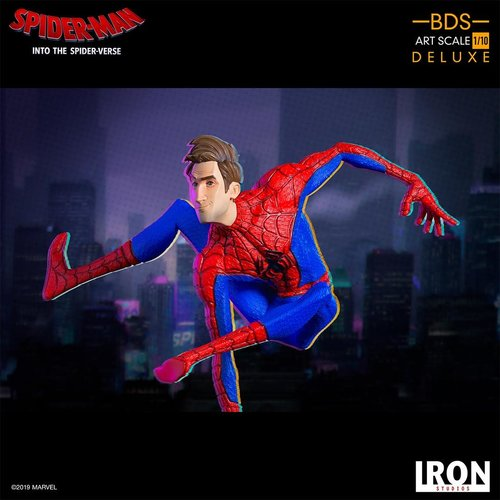 Iron Studios Marvel: Into the Spider-Verse - Peter B. Parker 1:10 scale Statue