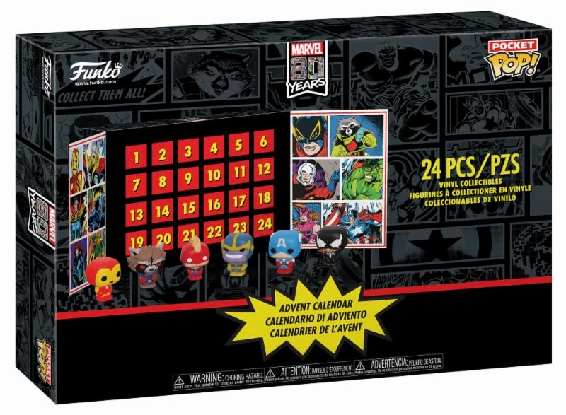 FUNKO Marvel: Pocket Pop Advent Calendar