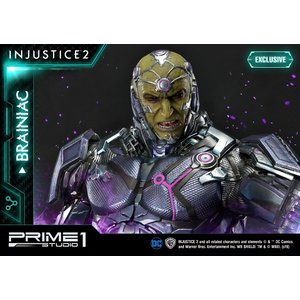 Prime 1 Studio Pre order: DC Comics: Injustice 2 - Exclusive Brainiac 30 inch Statue