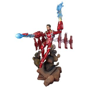 Diamond Direct Marvel Gallery: Avengers 3 - Unmasked Iron Man Mk50 Deluxe PVC Statue