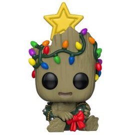 FUNKO Pop! Marvel: Holiday - Groot