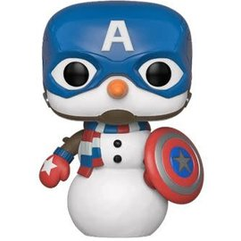 FUNKO Pop! Marvel: Holiday - Captain America