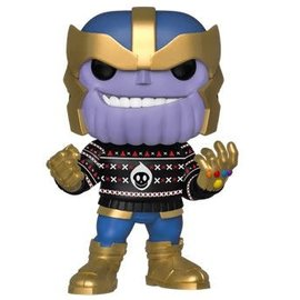 FUNKO Pop! Marvel: Holiday - Thanos