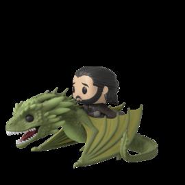 FUNKO Pop! Rides: Game of Thrones - Jon Snow with Rhaegal