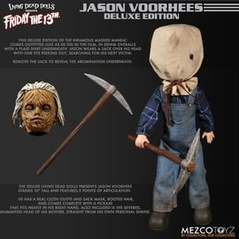 Mezcotoys Living Dead Dolls: Deluxe Jason Voorhees Action Figure