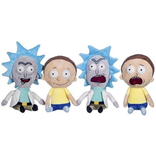 Hole In The Wall Rick and Morty Pluche Knuffels 27cm