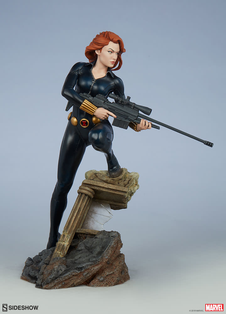 Sideshow Pre order:  Marvel: Avengers Assemble Black Widow 1:5 Scale Statue