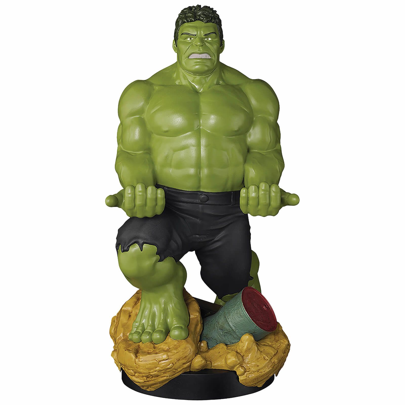 Exquisite Gaming Cable Guy XL - Marvel Hulk Phone & Controller Holder New