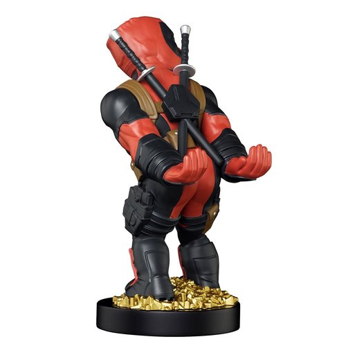 Exquisite Gaming Cable Guy - Marvel Deadpool New Legs Phone & Controller Holder
