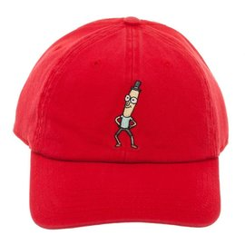 Bioworld Rick and Morty Mr. Poopy Butthole Embroidered Adjustable Cap