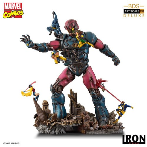 Pre-Order Marvel: X-Men vs Sentinel #1 - 1:10 Scale Statue De luxe