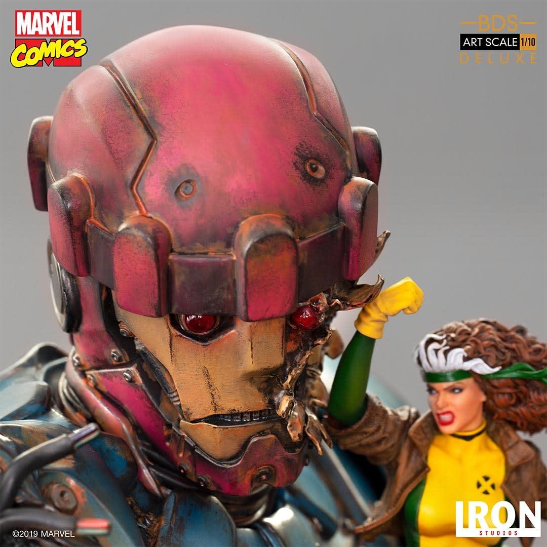 Iron Studio Pre-Order Marvel: X-Men vs Sentinel #1 - 1:10 Scale Statue De luxe