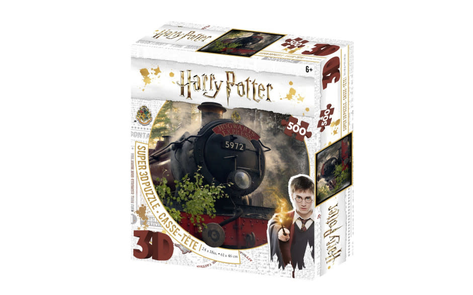 Harrison Super 3D Harry Potter 500 Piece Jigsaw Puzzle - The Hogwarts Express