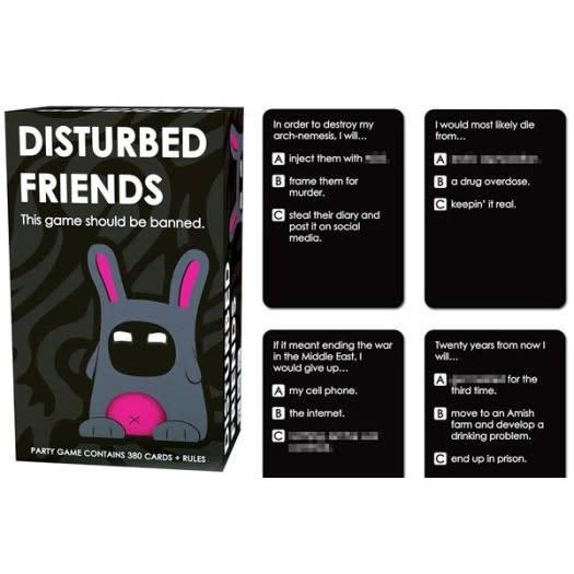 CLD Disturbed Friends - Kaartspel (US)