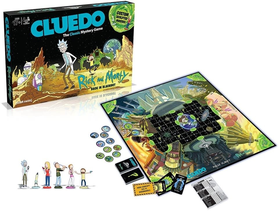 CLD Cluedo Rick And Morty