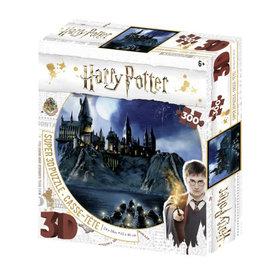 Harrison Super 3D Harry Potter 300 Piece Jigsaw Puzzle - Hogwarts